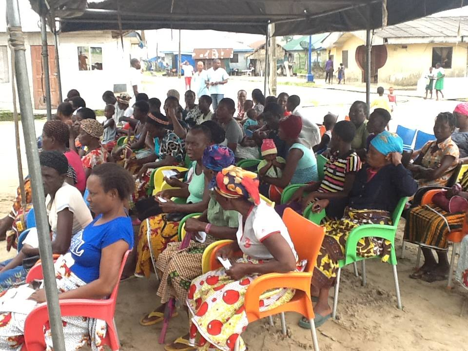 Cross section of Oporoza community indigenes at the free medical mission